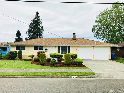Tacoma WA Single Family Home For Sale: $299,999