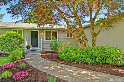 Kenmore Single Family Home For Sale: 19536 55th Ave NE