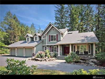 North Bend WA Single Family Home For Sale: $889,000