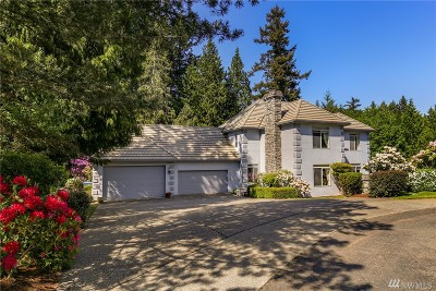Gig Harbor Single Family Home For Sale: 5505 135th St Ct NW