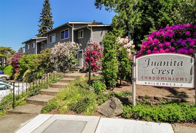 Kirkland Condo/Townhouse For Sale: 12004 101st Ave NE #J3