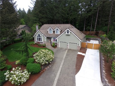 Thurston County Single Family Home For Sale: 6006 Capitol Forest Ct SW