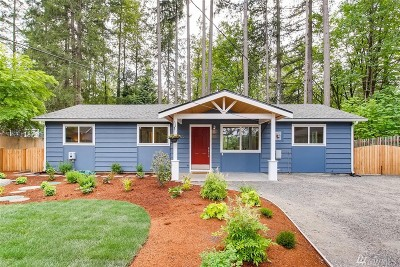 Woodinville Single Family Home For Sale: 15805 182nd Ave NE