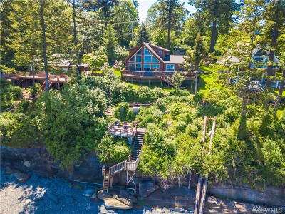 Lummi Island Single Family Home For Sale: 2367 N Nugent Rd