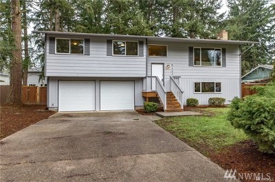 Spanaway Single Family Home For Sale: 5123 204th St Ct E