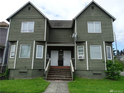 Tacoma Multi Family Home For Sale: 1502 S M St