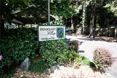 Issaquah Condo/Townhouse For Sale: 755 5th Ave NW #C-103