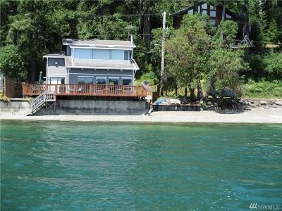 Mason County Single Family Home For Sale: 9661 NE North Shore Rd