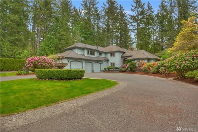 Maple Valley Single Family Home For Sale: 24319 SE 256th St