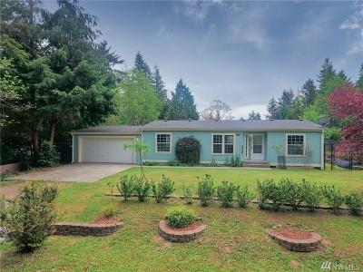Mason County Single Family Home Pending Inspection: 1100 E Lakeshore Dr W