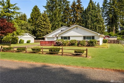 Lakewood Single Family Home For Sale: 8315 116th St SW