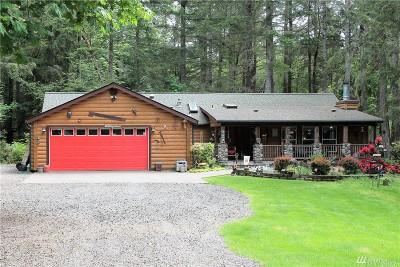 Mason County Single Family Home For Sale: 1191 E Jared Rd