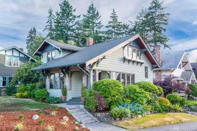 Tacoma Single Family Home For Sale: 3624 N Mason Ave