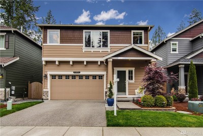 Bothell Single Family Home For Sale: 3405 177th Place SE