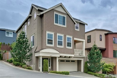 Kirkland Condo/Townhouse For Sale: 10719 NE 65th Lane #14