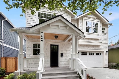 Seattle Single Family Home For Sale: 7549 45th Ave NE