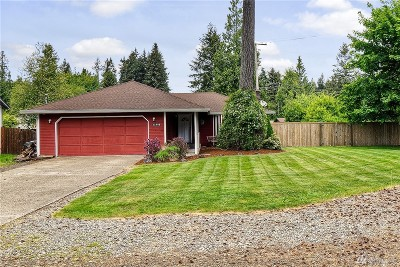 Thurston County Single Family Home For Sale: 11948 Shoreview Dr SW
