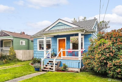 Seattle Single Family Home For Sale: 4418 SW Graham St