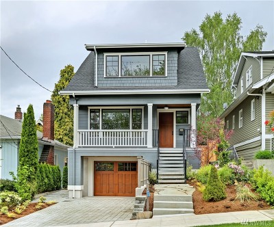 Seattle Single Family Home For Sale: 1908 Nob Hill Ave N