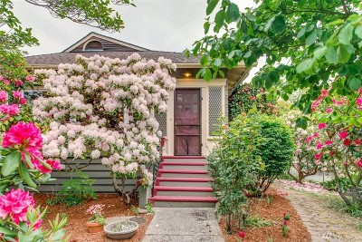 Seattle Single Family Home For Sale: 3456 45th Ave SW