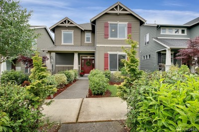 Gig Harbor Single Family Home Contingent: 11435 Kinglet Lane