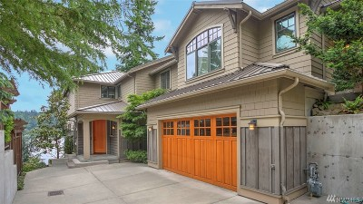 Redmond WA Single Family Home For Sale: $3,150,000