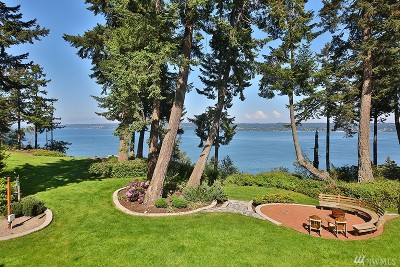Coupeville Single Family Home Sold: 566 Mussel Beach Rd