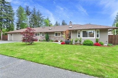 Everett Single Family Home For Sale: 4229 122nd Place SE