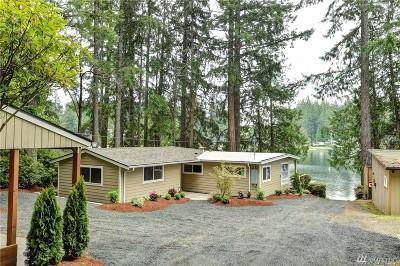 Grapeview Single Family Home For Sale: 5222 E Mason Lake Dr W