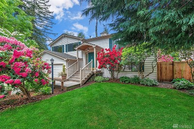 Bothell Single Family Home For Sale: 17506 Woodland Dr