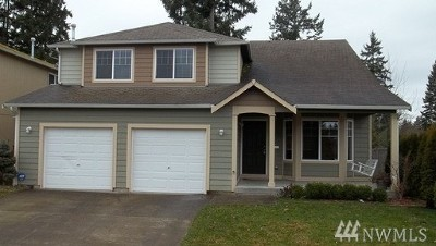 Puyallup Single Family Home For Sale: 16602 127th Ave Ct E