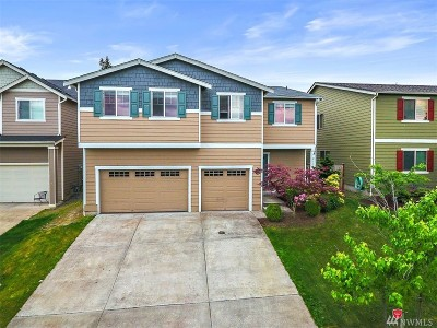 Spanaway Single Family Home For Sale: 2118 187th St Ct E