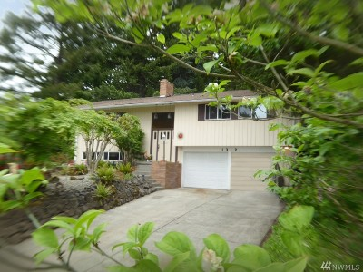 Chehalis Single Family Home For Sale: 1312 SE Washington Ave