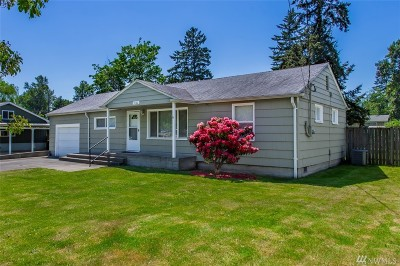Tacoma Single Family Home For Sale: 9122 McKinley Ave