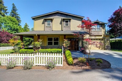Kirkland Single Family Home For Sale: 331 15th Ave