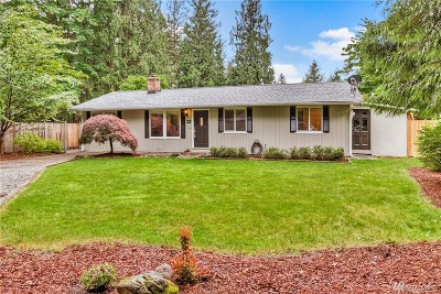 North Bend, Snoqualmie Single Family Home For Sale: 14433 444th Ave SE