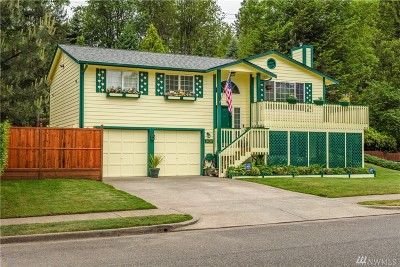 Tacoma Single Family Home For Sale: 3636 Inverness Dr NE