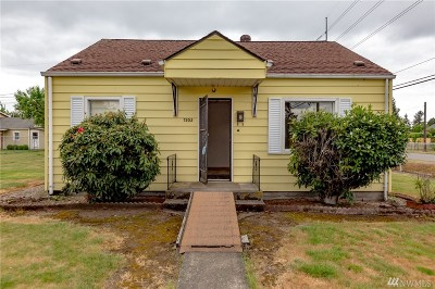Tacoma Single Family Home For Sale: 7202 S Alder St