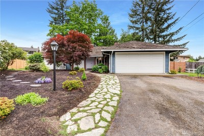 Bellevue Single Family Home For Sale: 16918 NE 22nd Place