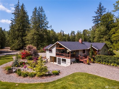 Bellingham Single Family Home For Sale: 5501 Starry Rd