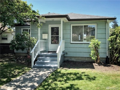 Tacoma Single Family Home For Sale: 4034 S Bell St