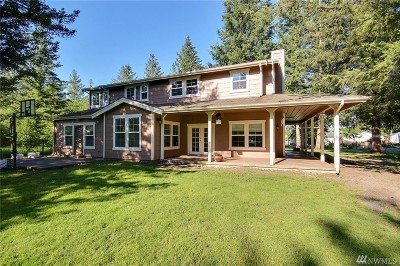 Gold Bar Single Family Home For Sale: 400 Smeltzer Rd