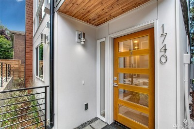 Seattle Single Family Home For Sale: 1740 12th Ave S #B
