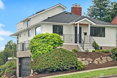 Seattle Single Family Home For Sale: 2722 Queen Anne Ave N