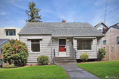 Seattle Single Family Home For Sale: 9422 35th Ave SW