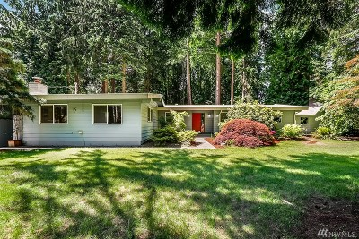 Woodinville Single Family Home For Sale: 14951 NE 204th St