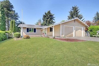 Pierce County Single Family Home For Sale: 10415 110th St SW