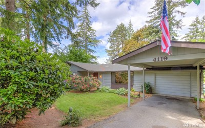 Gig Harbor Single Family Home For Sale: 4119 64th St Ct NW