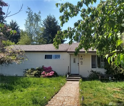 Pierce County Single Family Home For Sale: 3122 Elwood Dr W