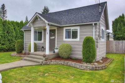 Pierce County Single Family Home For Sale: 375 S Cottage St